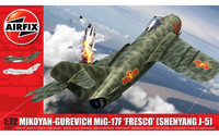 Airfix 1/72 Mikoyan-Gurevich MiG-17F 'Fresco' (Shenyang J-5)