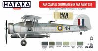 Hataka Red Line RAF Coastal Command & RN FAA maalisetti 6x17ml