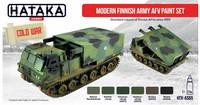 Hataka Red Line Modern Finnish Army AFV maalisetti 6x17ml