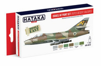 Hataka Red Line Israeli AF (1970's Desert Colours) maalisetti 6x17ml