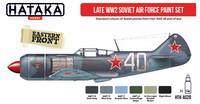 Hataka Red Line Late WW2 Soviet Air Force maalisetti 6x17ml