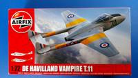 KÄYTETTY Airfix 1/72 DeHavilland Vampire T.11
