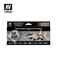 Vallejo Model Air 71.203 Israeli Air Force (IAF) Colors Post 1967 to Present maalisetti 8x17ml
