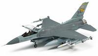 Tamiya 1/72 Lockheed Martin F-16CJ [Block 50] Fighting Falcon w/Full Equipment
