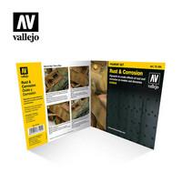 Vallejo Pigments 73.194 Rust & Corrosion pigmenttisetti 4x35ml