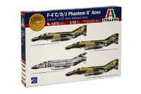 Italeri 1/72 F-4C/D/J Phantom II Aces - U.S.A.F. - U.S. Navy Vietnam Aces