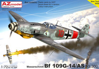 AZ 1/72 Messerchmitt Bf 109G-14/AS JG.300