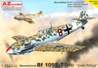 AZ 1/72 Messerchmitt Bf 109E-7 Trop