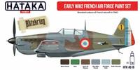 Hataka Red Line Early WW2 French Air Force maalisetti 6x17ml