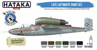 Hataka Blue Line Late Luftwaffe maalisetti 6x17ml