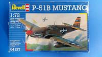 KÄYTETTY Revell 1/72 P-51B Mustang