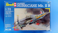 KÄYTETTY Revell 1/72 Hawker Hurricane Mk.IIB