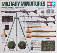 Tamiya 1/35 German Infantry Weapons Set