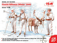 ICM 1/35 Finnish Riflemen (Winter 1940)