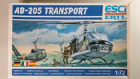 KÄYTETTY Esci 1/72 AB-205 Transport