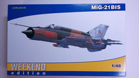 KÄYTETTY Eduard 1/48 MiG-21 BIS (Weekend Edition)