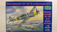 KÄYTETTY Unimodel 1/48 Messerschmitt Bf-109G-6