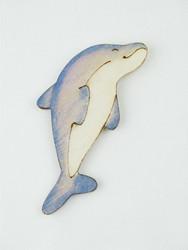 Delfiinimagneetti, puuta