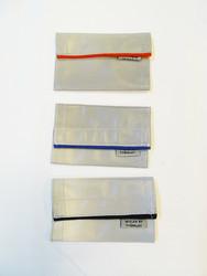 Heijastava nauha laukkuun, tarranauhakiinnitys