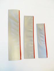Heijastava nauha, laukun hihnaan pujotettava malli, kolme kokoa
