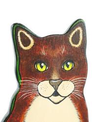 Kissa talouspaperiteline