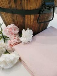 Ribbitrikoo vaalea vanha roosa