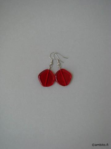 MidnightMoment -korvakorut, punainen