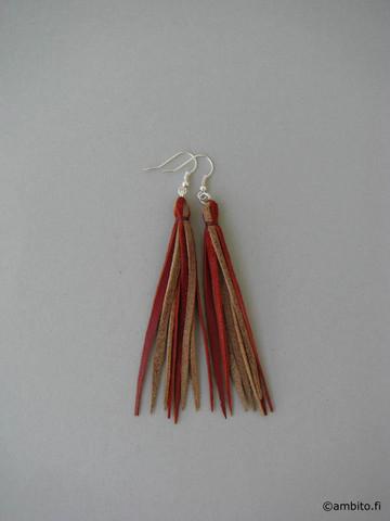 SoBo -korvakorut, oranssi/ruskea