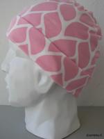 Trikoopipo, vaaleanpunainen, 5 cm käänne