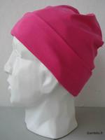Trikoopipo, pinkki, 5 cm käänne
