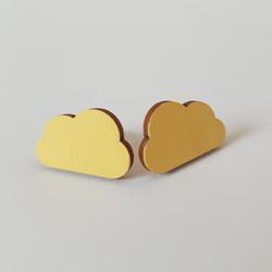 Pilvi nappikorvakoru, keltainen
