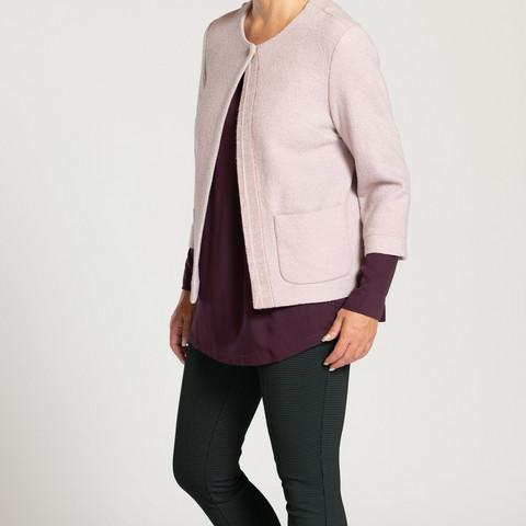 Lyhyt HENNI jakku, roosa
