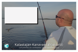 Lahjakortti Kalastajan Kanavan verkkokauppaan 10€