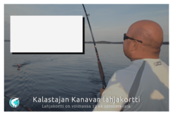 Lahjakortti Kalastajan Kanavan verkkokauppaan 100€