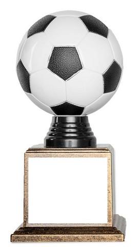 Musta-valko- jalkapallofiguuri
