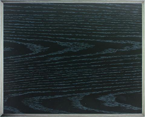 Seinätaulu musta puujäljitelmä 1