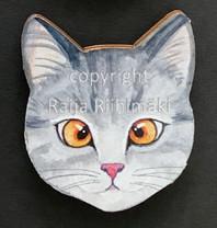 Kissanpäämagneetti nro 7