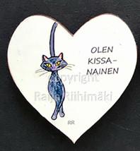Kissamagneetti sydän nro 6