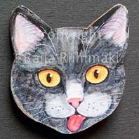 Kissanpäämagneetti nro 11