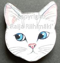 Kissanpäämagneetti nro 12