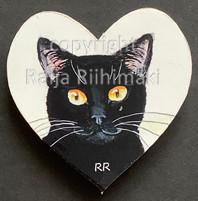 Kissamagneetti sydän nro 11