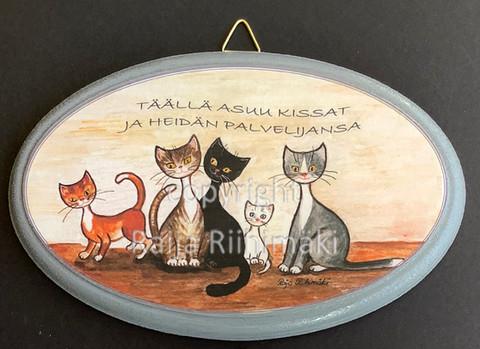 Ovikyltti kissojen palvelija