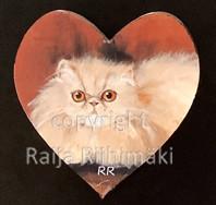 Kissamagneetti sydän nro 20