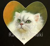 Kissamagneetti sydän nro 21