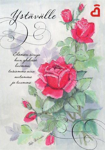 Ystävänpäiväkortti