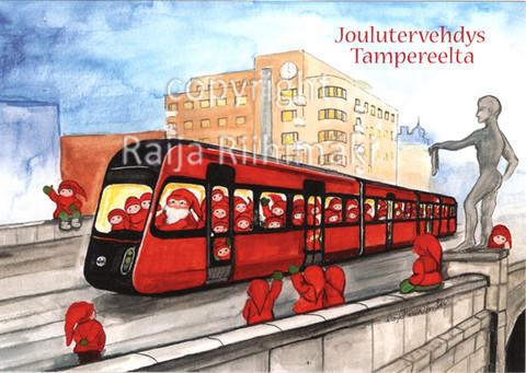 Joulukortti Tampere