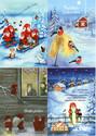 Joulukortti-lajitelmat /TARJOUS