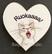 Kissamagneetti sydän nro 9