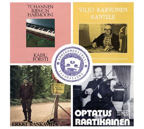 Kansanmusiikki-instituutin levyaarteita (4 CD)