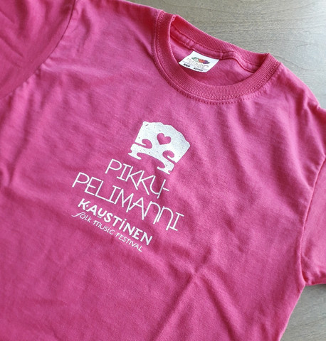 T-shirt for children, pink